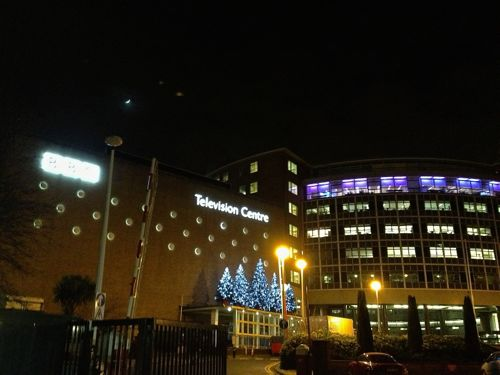 BBC Television Centre in west London last night.