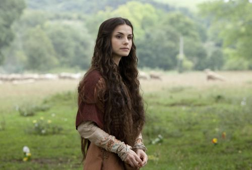 Charlotte Riley as Caris.