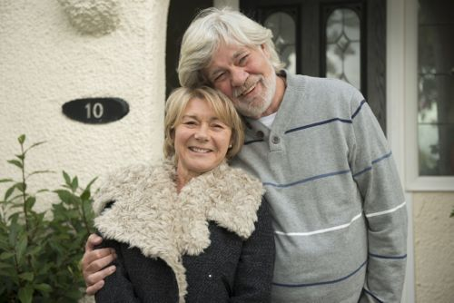 Barbara Flynn and Matthew Kelly in The Shrine.
