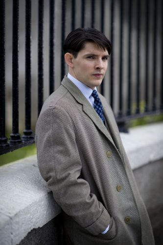Colin Morgan as Jimmy in Quirke.