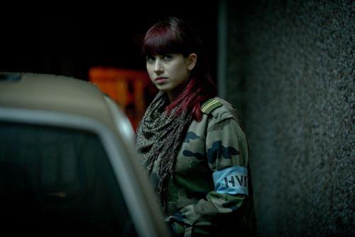 Harriet Cains as Kieren's sister Jem.