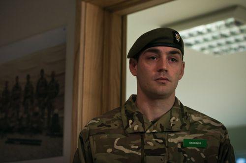 Matthew McNulty as Corporal Geddings.