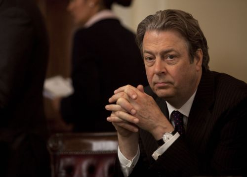 Roger Allam as the Chief Whip.