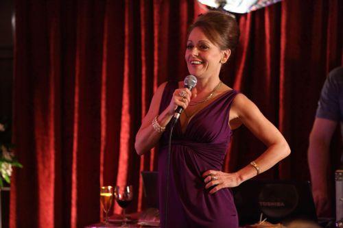 Tracie Bennett as Sharon.