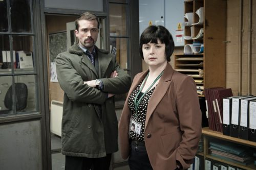 Glen Martin (Emmett Scanlan) and DS Mary McCurdy (Siobhan McSweeney)