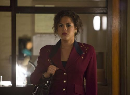 Lenora Crichlow as publicist  Chen Sam.