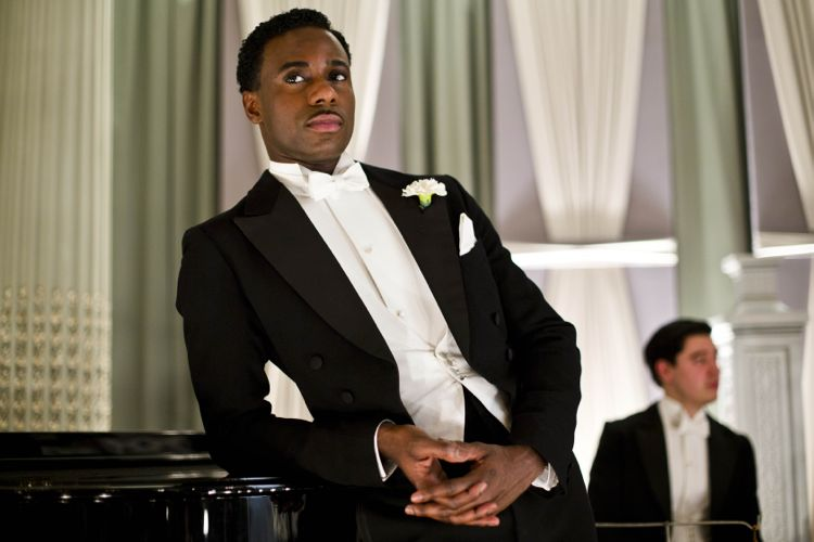 Gary Carr - introduced later in the series as American jazz singer Jack Ross.