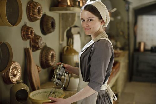 Daisy (Sophie McShera) in the Downton series 4 mix.