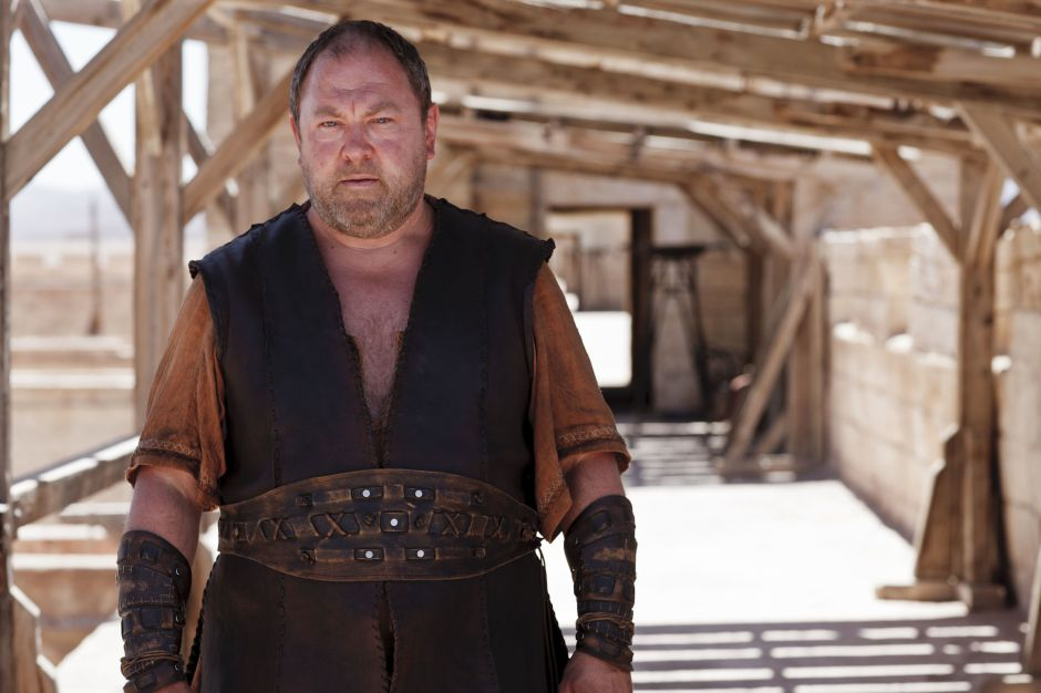 Mark Addy as Hercules.