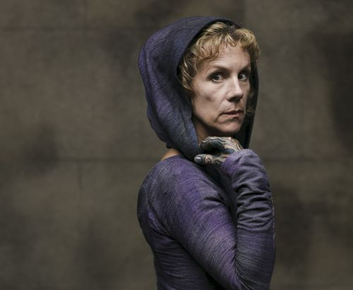 Juliet Stevenson as The Oracle.