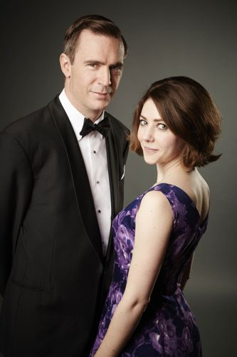 Jack Davenport as Otto and Catherine Steadman as Angela.