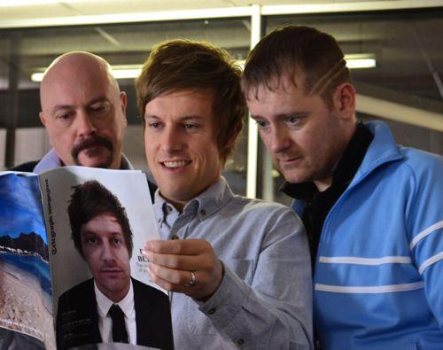 Graham Duff (David), Chris Ramsey (Jack) and Jason Cook (Ramsey).