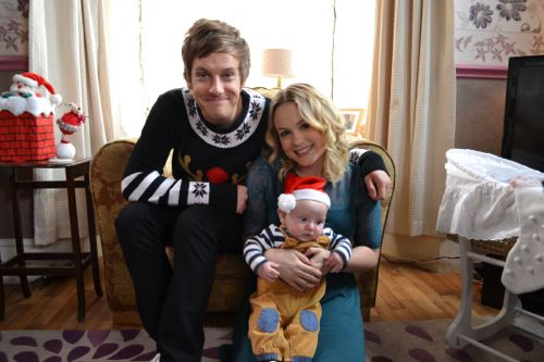 Chris Ramsey and Kimberley Nixon as Jack and Sarah.