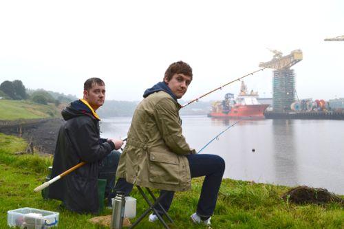Jason Cook as Ramsey and Chris Ramsey as Jack.