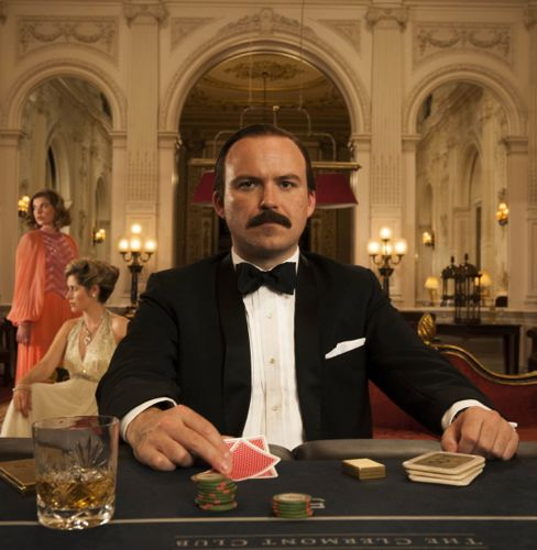 Rory Kinnear as Lord Lucan.