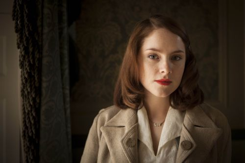 Sophie Rundle as Lucy.