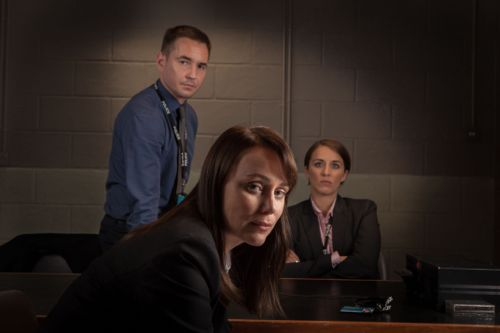 Detective Sergeant Steve Arnott (MARTIN COMPSTON), Detective Inspector Lindsay Denton (Keeley Hawes), Detective Constable Kate Fleming (Vicky McClure)