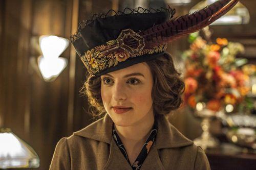 Aisling Loftus as Agnes Towler.