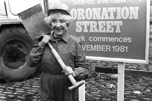 Doris Speed, who played Annie Walker, before a previous new Street incarnation.