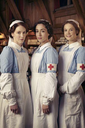 Rosalie Berwick (MARIANNE OLDHAM), Kitty Trevelyan (OONA CHAPLIN), Flora Marshall (ALICE ST CLAIR)