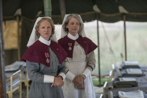Hermione Norris and Kerry Fox.