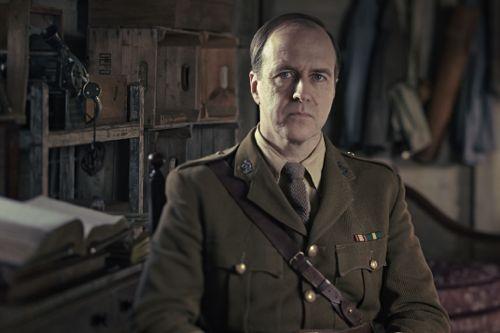 Kevin Doyle as Lieutenant-Colonel Roland Brett.
