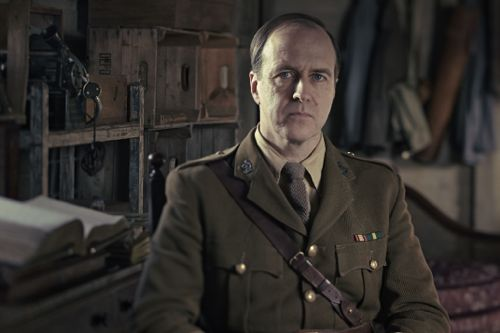 Kevin Doyle as Lieutenant-Colonel Roland Brett.