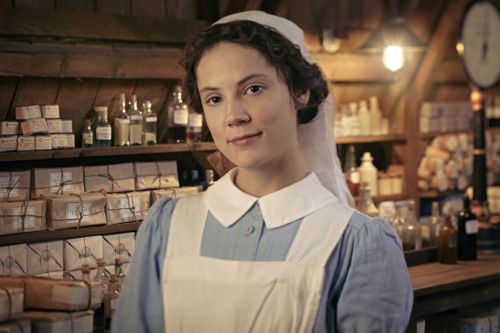 Alice St Clair as Flora Marshall.