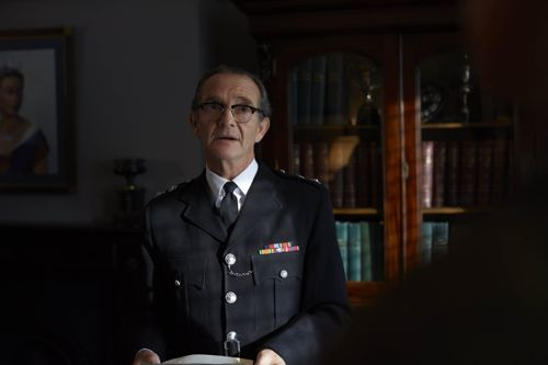 Anton Lesser as Chief Supt Reginald Bright.