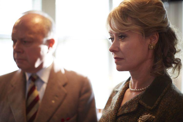 Beth Goodard as Barbara Batten and Jonathan Coy as Archie Batten.