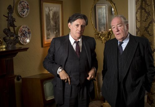 Gabriel Byrne as Quirke and Michael Gambon as Judge Garret Griffin.