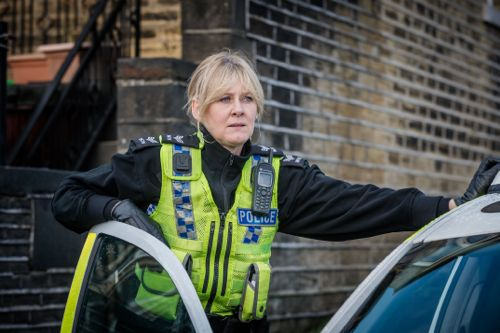 Sarah Lancashire as Catherine Cawood.