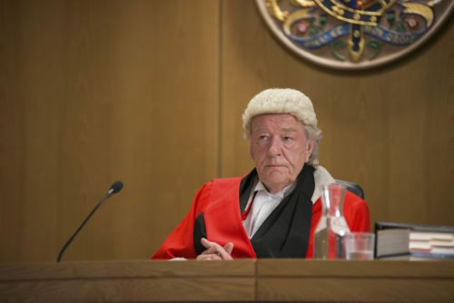 Sir Michael Gambon as the judge.