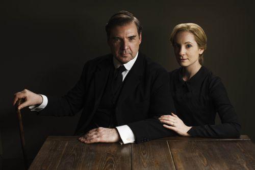 John Bates (Brendan Coyle) and Anna Bates (Joanne Froggatt).