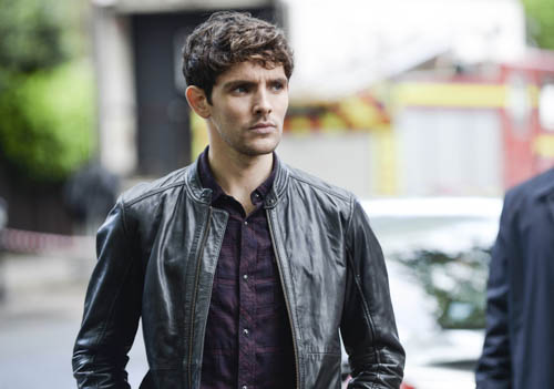 Colin Morgan as DS Tom Anderson.