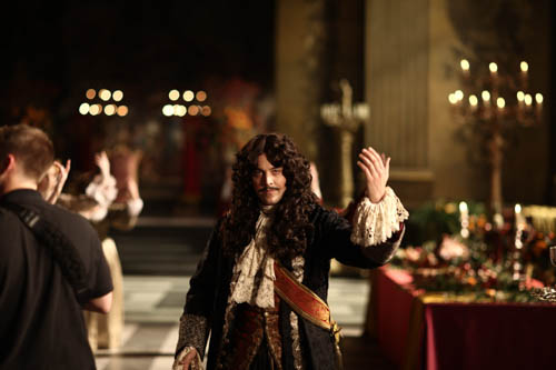 Jack Huston as King Charles II.