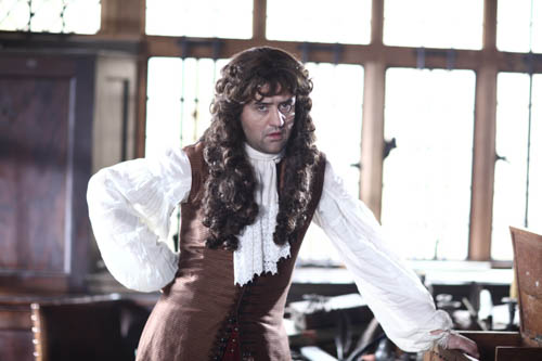 Daniel Mays as Samuel Pepys.