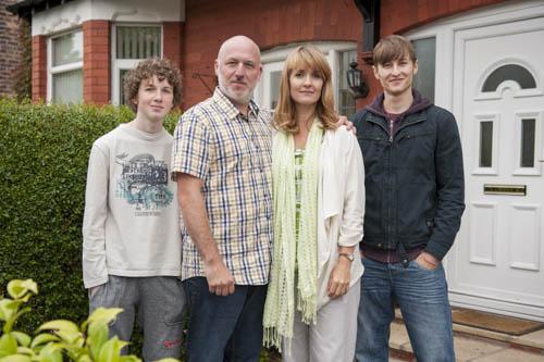 The Beneficiary: Paul (CHARLIE GALLAGHER), Derek (DOMINIC CARTER), Helen (KATY CARMICHAEL), Stephen (LUKE TITTENSOR)