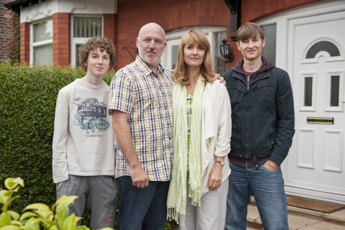 The Beneficiary: Paul (CHARLIE GALLAGHER), Derek (DOMINIC CARTER), Helen (KATY CARMICHAEL), Stephen (LUKE TITTENSOR)