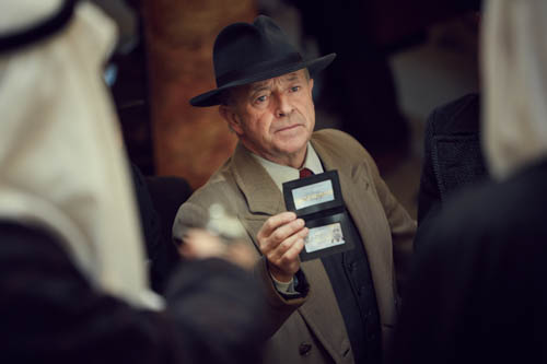 Michael Kitchen as Christopher Foyle.