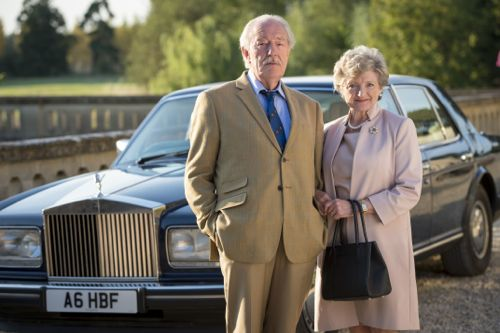 Michael Gambon and Julia McKenzie as Howard and Shirley Mollison.
