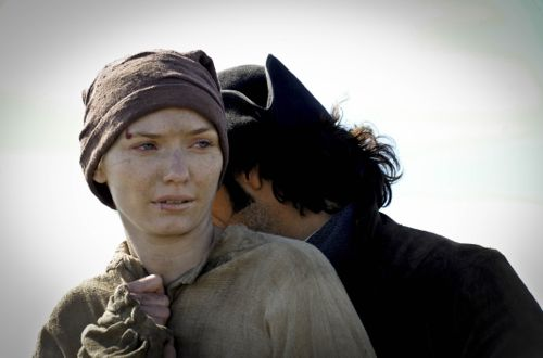 Eleanor Tomlinson as Demelza in episode one.