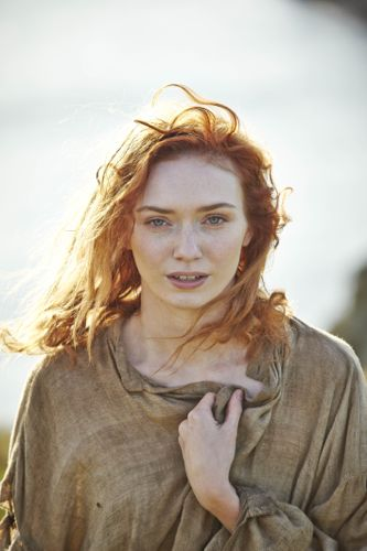 Eleanor Tomlinson as Demelza.