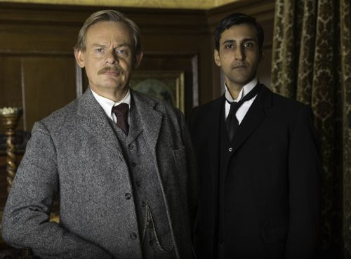 Arthur (Martin Clunes) and George (Arsher Ali).