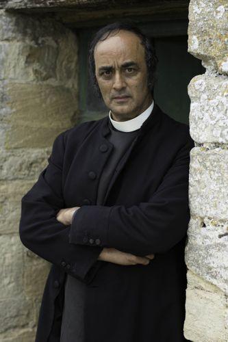 Rev Edalji (Art Malik).