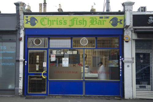 Chris's Fish Bar. Photo: My copyright.