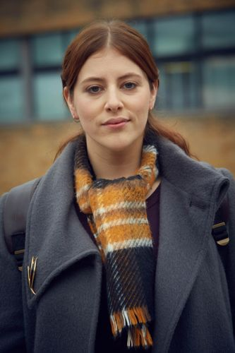 Lydia Rose Bewley as Vicky Wilson.