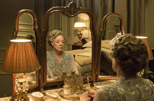 Dowager Countess, Violet (Maggie Smith).