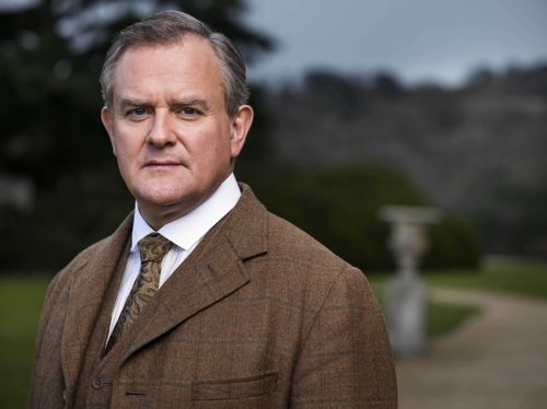 Lord Grantham (Hugh Bonneville).