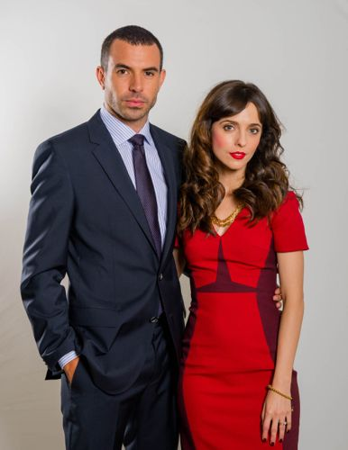 Tom Cullen and Leticia Dolera as Joe and Maria Rose.